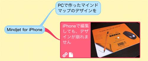 マインドマネージャーのiPhoneアプリ