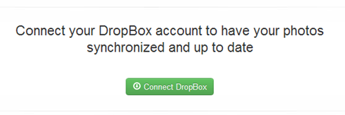 Connect DropBox