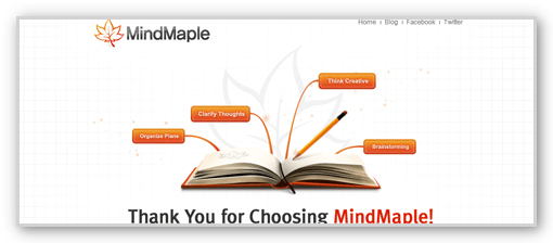 マインドマップソフト「MindMaple」